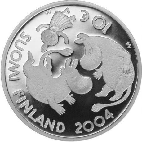 Finlande - 10 Euro Argent Tove Jansson - 2004