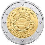 Belgien - 2 Euro 10 Jahre des Münzens und Scheine - 2012