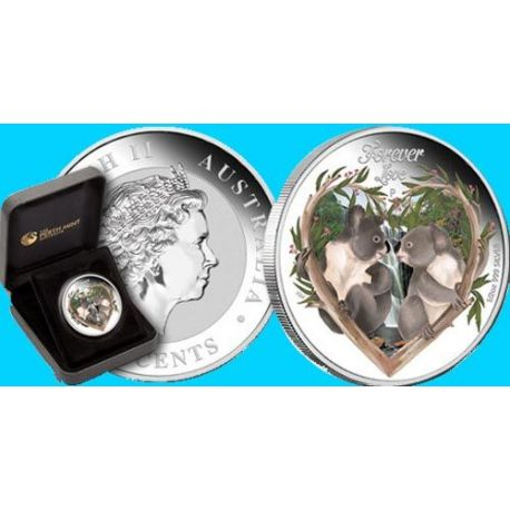 Tuvalu - 50 cts Argent - Forever Love - 2012