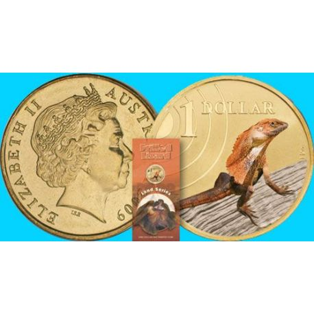Australie - 1$ - Cacatoés - 2011