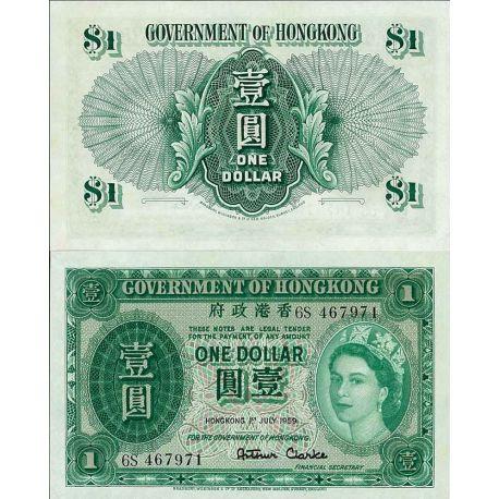Hong Kong - Pk N° 324A - Billet de banque de 1 Cent
