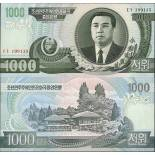 Banknote collection North Korea Pick number 45 - 1000 Won 2002