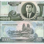 Coree Nord - Pk N° 45 - Billet de banque de 1000 Won