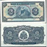 Haiti - Pk N° 254 - Billet de banque de 2 Gourdes