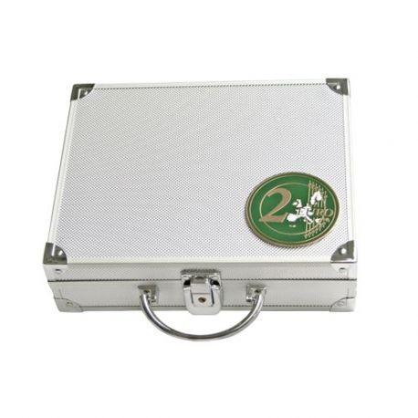 Numismate Mallette 210 pièces 2 Euros