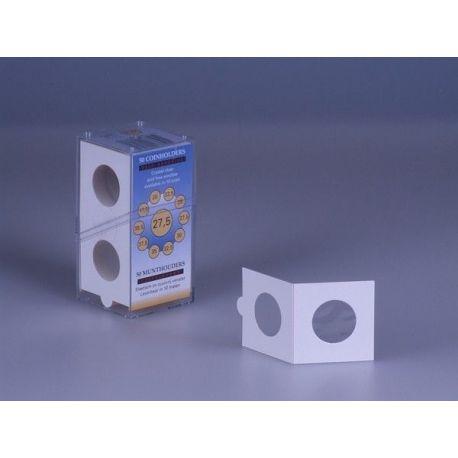 Coque arrière Minigel Transparent Marron café pour Apple iPhone 5