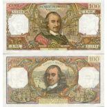 Colección Billetes Francia Pick número 149 - 100 FRANC 1962