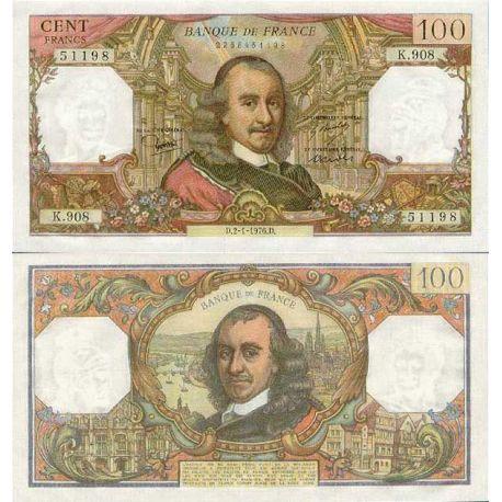 Billet de 100 Francs - Billet de collection PK 149