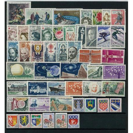 France 1962 Neufs - Année complète