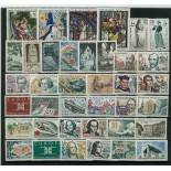 Briefmarken Frankreich 1963 in neuem ganzem Jahr
