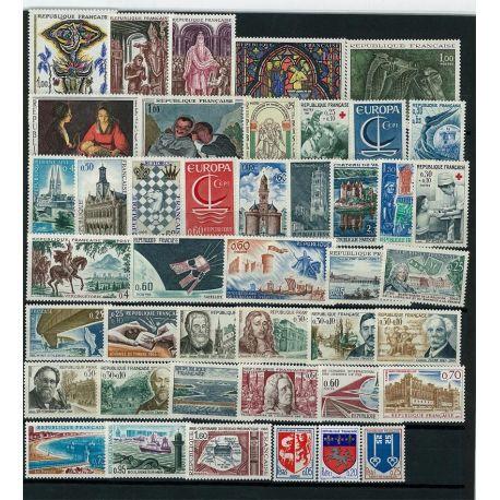 France 1966 Neufs - Année complète