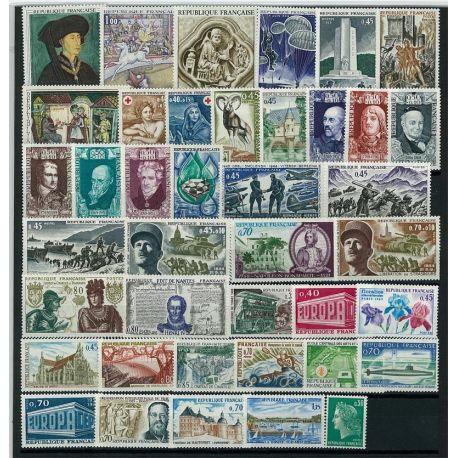 Frankreich 1969 neu - volle Jahr