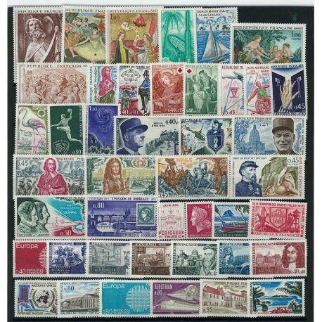 France 1970 Neufs - Année complète