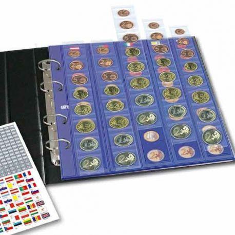 Numismate Feuilles supplémentaires pour séries Euros