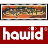 Filatelia 20 bolsitas Hawid negro doble soldadura 81x26