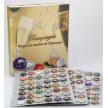 Champagne Cap Display Album Safe 7880