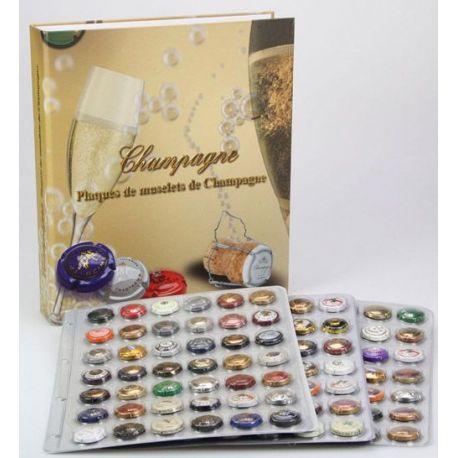 Album grand format pour capsules de Champagne