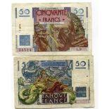Beautiful banknote France Pick number 127 - 50 FRANC