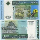 Collezione di banconote Madagascar Pick numero 85 - 10000 FRANC