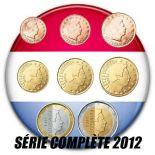 Luxembourg - 2012 - Série complète des 8 valeurs