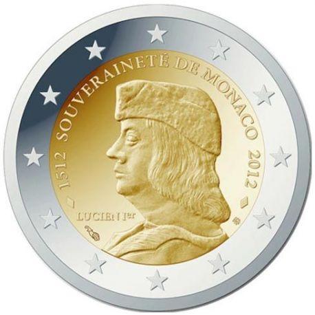 Monaco - 2 Euro commémorative - 2012