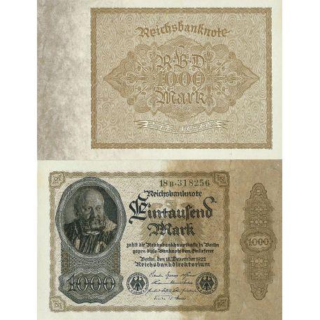 Billets de banque Allemagne Pk N° 82 - 1000 Mark