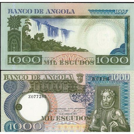 Billets de banque Angola Pk N° 108 - 108 Escudos