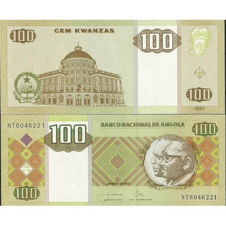 Billets de collection Billets de banque Angola Pk N° 147 - 147 Kwanzas Billets d'Angola 13,00 €