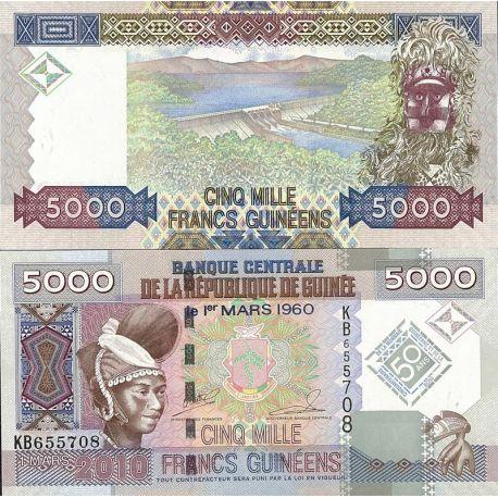 Billets de collection Billets de banque Guinee Francaise Pk N° 44 - 5 000 Francs Billets de Guinée Française 17,00 €