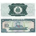 Beautiful banknote Haiti Pick number 265 - 10 Gourde