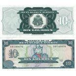 Billets de banque Haiti Pk N° 265 - 10 Gourdes