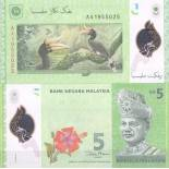 Banconote Malesia - Malay Uniti Pick numero 52 - 5 Ringgit