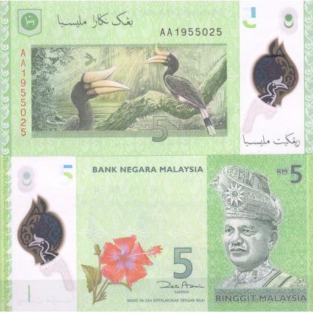 Billets de banque Malaisie Pk N° 9999NEW 5 - 5 Ringgit