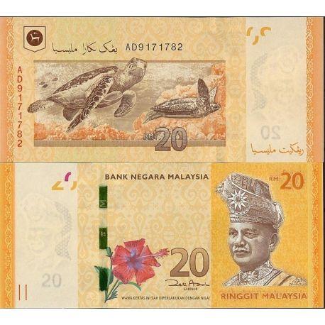 Malaisie - Pk N° 99999NEW 20 - Billet de 20 Ringgit