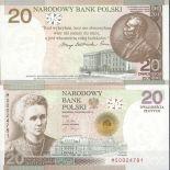 Collezione di banconote Polonia Pick numero 182 - 20 Zlotych