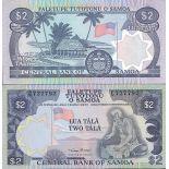 Colección Billetes Samoa Pick número 25 - 2 Tala