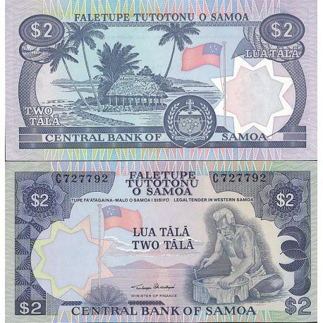 Samoa - Pk N° 25 - Billet de 2 Colones