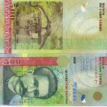 Schone Banknote Kap Verde Pick Nummer 69 - 500 Escudo 2007