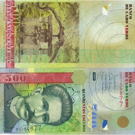 Cap Vert - Pk N° 69 - Billet de 500 Escudos