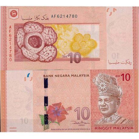 Malaisie - Pk N° 999NEW 10 - Billet de 10 Ringgit