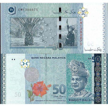 Billets de banque Malaisie Pk N° 999NEW 50 - 50 Ringgit