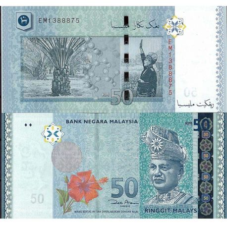 Malaisie - Pk N° 999NEW 50 - Billet de 50 Ringgit