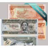 Etiopía - Colección de los 3 billetes diferentes.