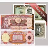 Haiti - Collection de 4 billets de banque tous différents.
