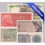 indonesia - Raccolta di tutti i 10 diverse banconote