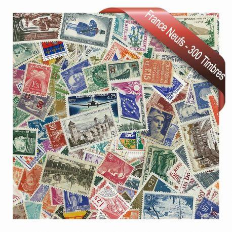 Collection de timbres France 300 différents neufs