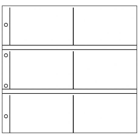 10 Feuilles pour 12 cartes anciennes ou modernes horizontales