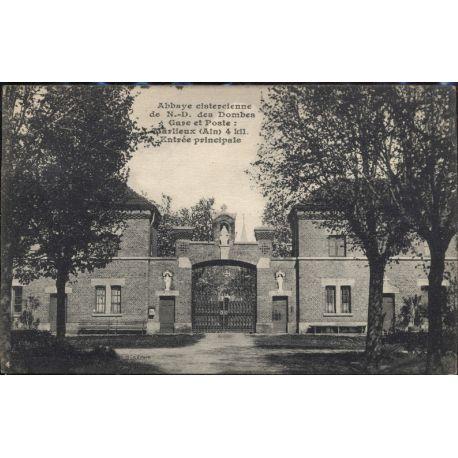 Carte postale 01 - Abbaye cistercienne de N-D des Dombes