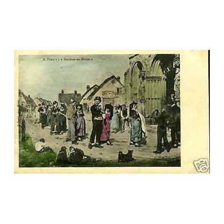 Carte postale 01 - Bapteme en Bresse
