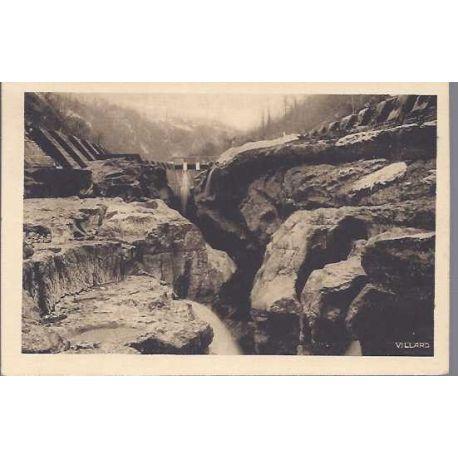 Carte postale 01 - Bellegarde - Barrage et gouffre